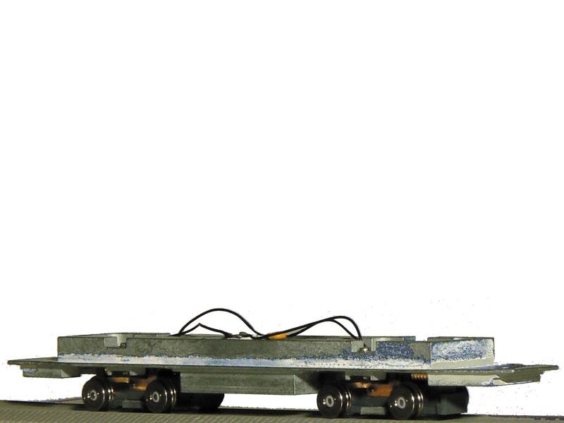 Kovová podlaha s motorem pro modely T5/T6