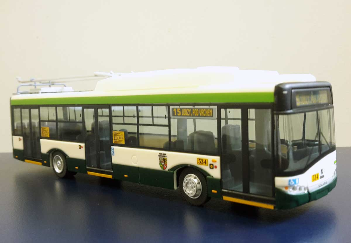 Model trolejbusu Solaris T12