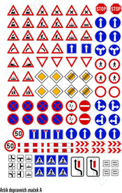 Aršík dopravních značek