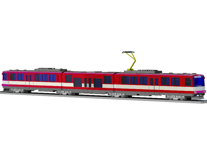 Elektrická jednotka ET40nf